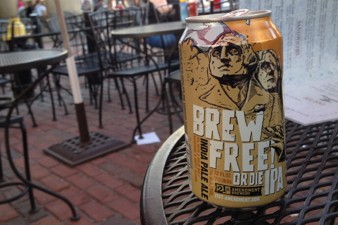 photo of Brew Free Or Die IPA Beer from Ames Plow Tavern, Boston, MA