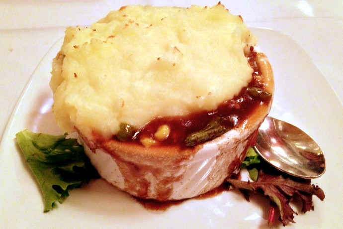 photo of shepherd's pie from Amrheins, South Boston, MA (from hiddenboston.com)