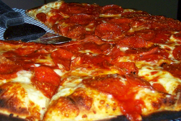photo of pizza from Angela's Coal Fired Pizza, Saugus, MA
