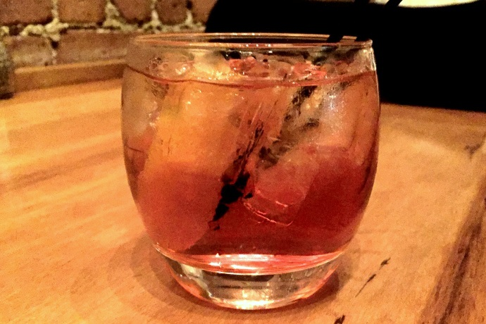 photo of an Old Fashioned from the Ashmont Grill, Dorchester, MA