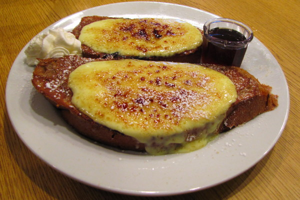 Photo of creme brulee French toast from Bintliff's , Ogunquit, Maine