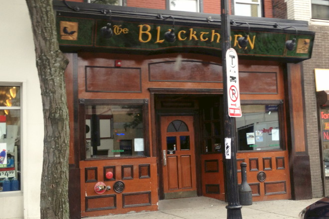 photo of the Blackthorn, South Boston, MA
