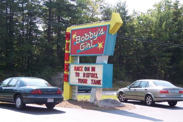 Bobbys Girl Diner New Hampton Nh Photo From Bostons Hidden