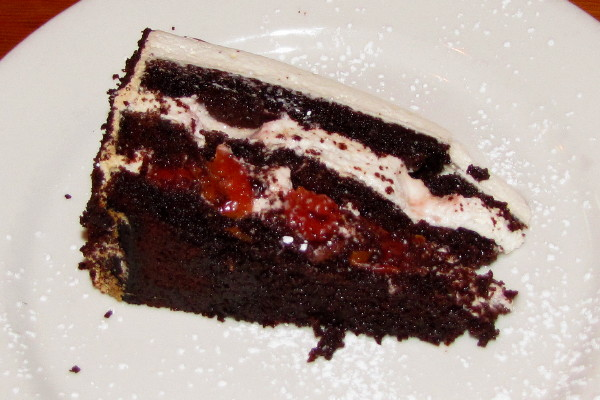 photo of black forest cake from Brauhaus Schmitz, Philadelphia, PA