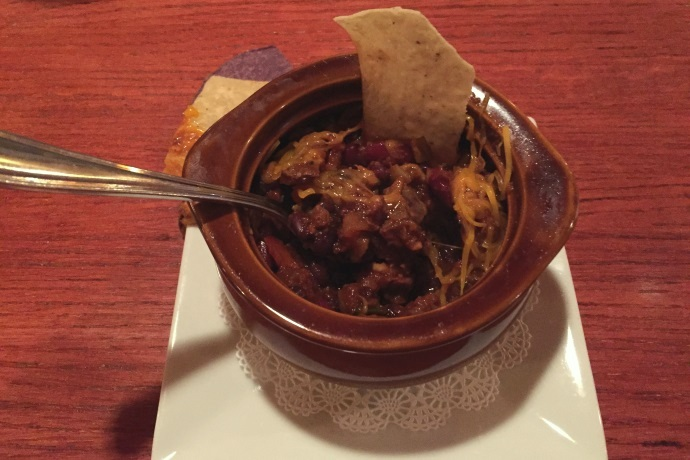 photo of chili from Brothers Restaurant, Brookline, MA