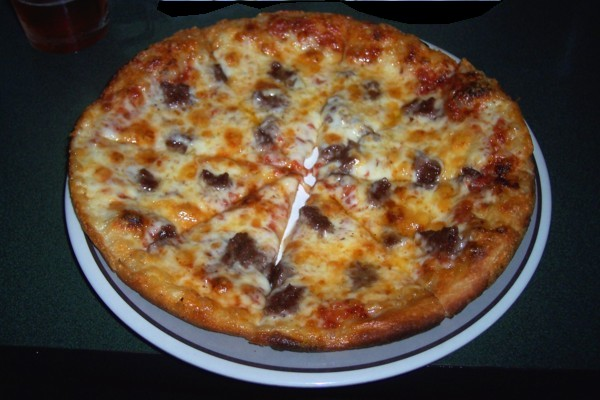 photo of bar pizza at Buddy's Union Villa, Easton, MA