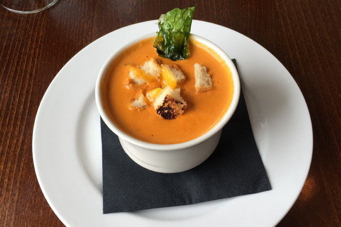 photo of tomato soup from CK Pearl, Essex, MA, MA