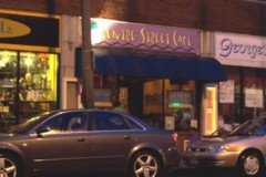 Photo of the Centre Street Cafe, a restaurant featuring eclectic cuisine in Jamaica Plain, MA