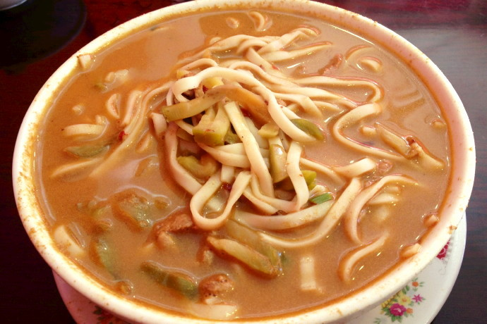 photo of dan dan noodles from China King, Boston, MA