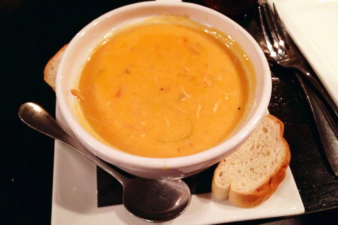 photo of Buffalo chicken soup from City Streets, Waltham, MA