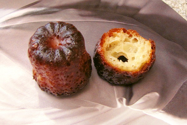 photo of canele from Clear Flour Bread, Brookline, MA