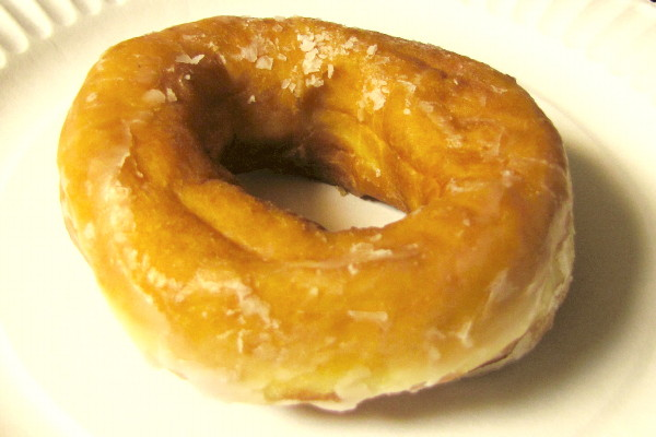 photo of honey dip doughnut from Congdon's Doughnuts, Wells, ME