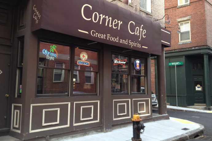 photo of the Corner Cafe, Boston, MA