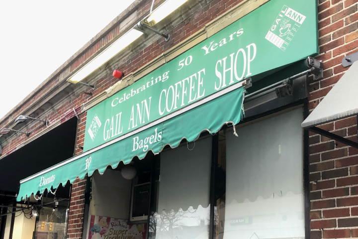 Gail Ann Coffee Shop, Arlington, MA