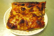photo of Sicilian pizza from Galleria Umberto, Boston, MA