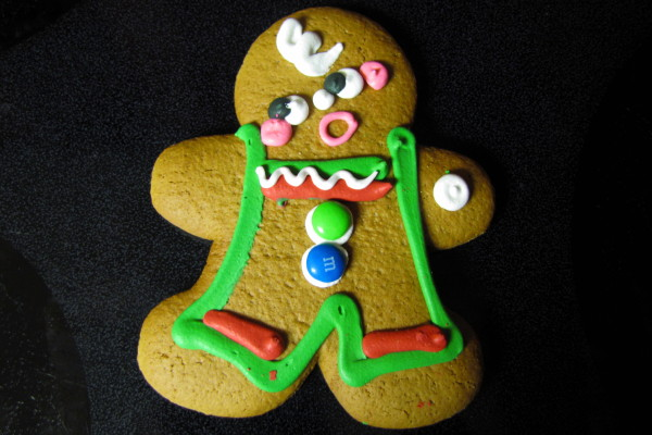 photo of Christmas Gingerbread Cookie from Ginger Betty's, Quincy, MA