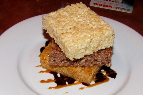 photo of rice krispy treat sampler from the Good Dog Bar and Restaurant, Philadelphia, PA