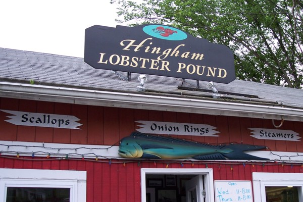 Hingham Lobster Pound, Hingham, MA | Photo from Boston's Hidden Restaurants