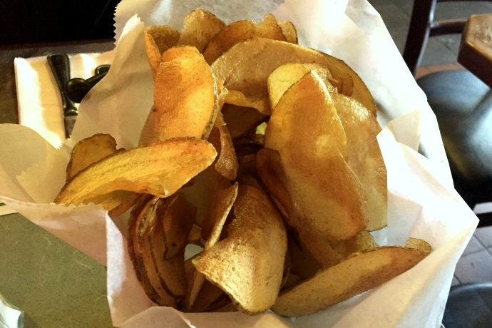 photo of house-made potato chips from Joco's Bar and Kitchen, Waltham, MA