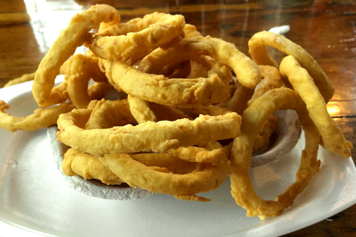 Onion Rings from Johnson's Drive-In, Groton, MA