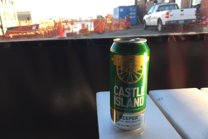 photo of Castle Island Keeper Beer from KO Pies at the Shipyard, East Boston, MA