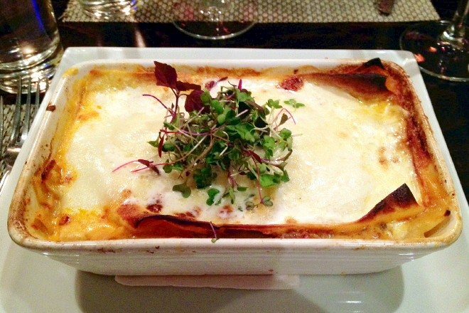 photo of lasagna from L'Impasto, Cambridge, MA