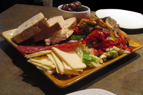 photo of antipasto from La Scala Ristorante, Worcester, MA