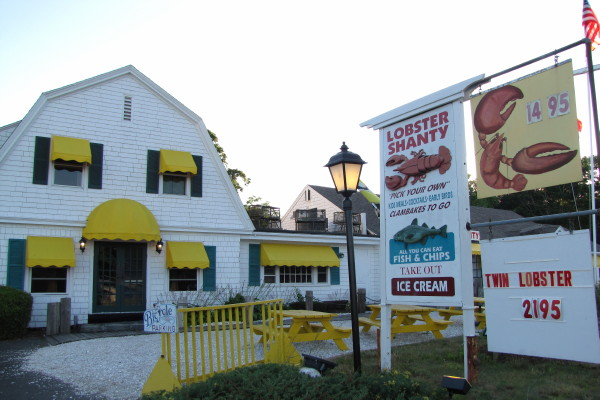 Lobster Shanty, Eastham, MA | Photo from Boston's Hidden Restaurants
