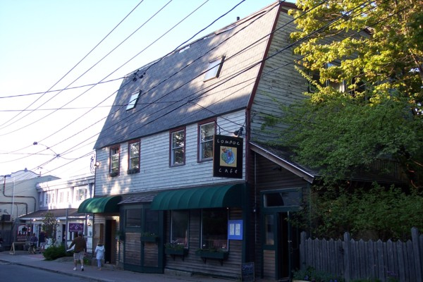 photo of the Lompoc Cafe, Bar Harbor, ME
