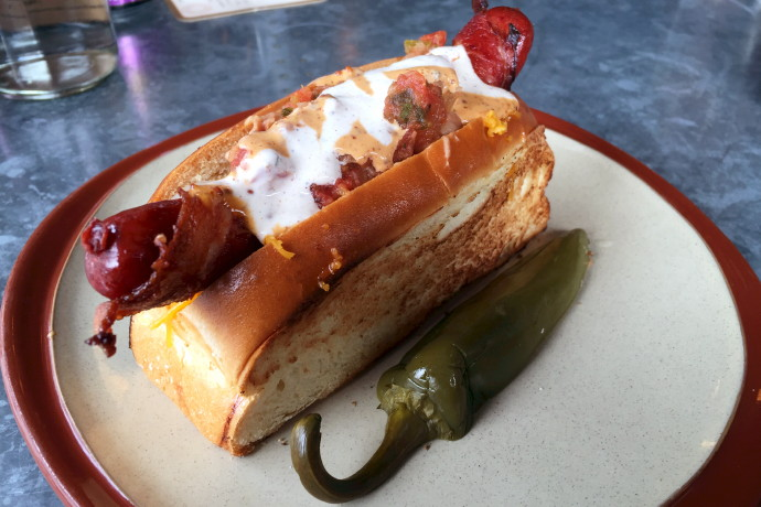 photo of Sonoran Dog from Lone Star Taco Bar, Cambridge, MA
