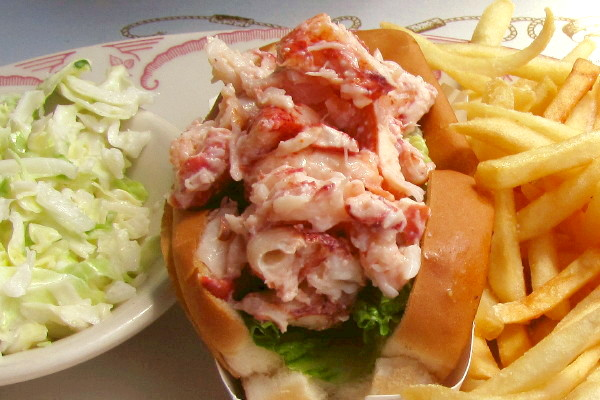 Photo: Lobster Roll from Mabel's Lobster Claw, Kennebunkport, ME | Boston's Hidden Restaurants