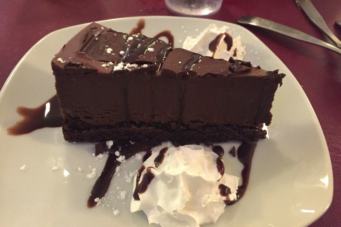 photo of chocolate mousse cake from Massimo's Ristorante, Wakefield, MA