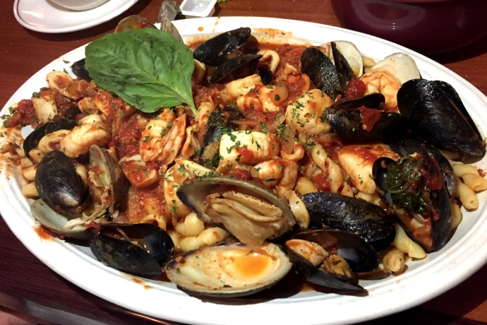 photo of seafood fra diavolo from Massimo's Ristorante, Wakefield, MA