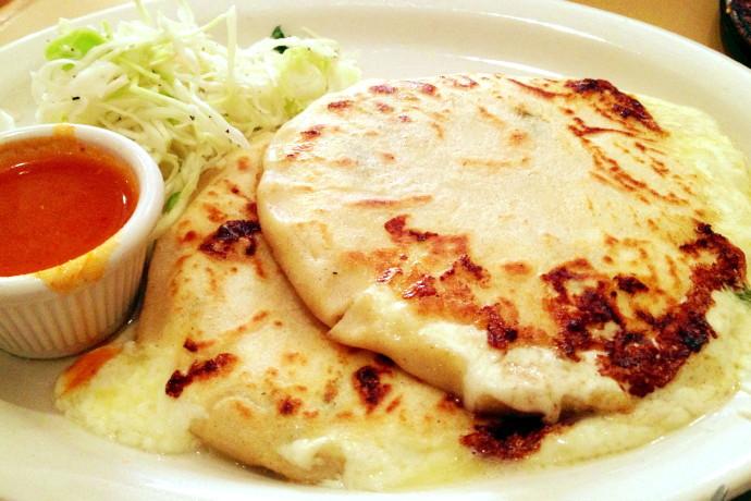 Photo: Cheese and Loroco Pupusas from Mi Pueblito, East Boston, MA ...