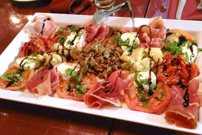 photo of antipasto from Nappi Meats and Groceries, Medford, MA
