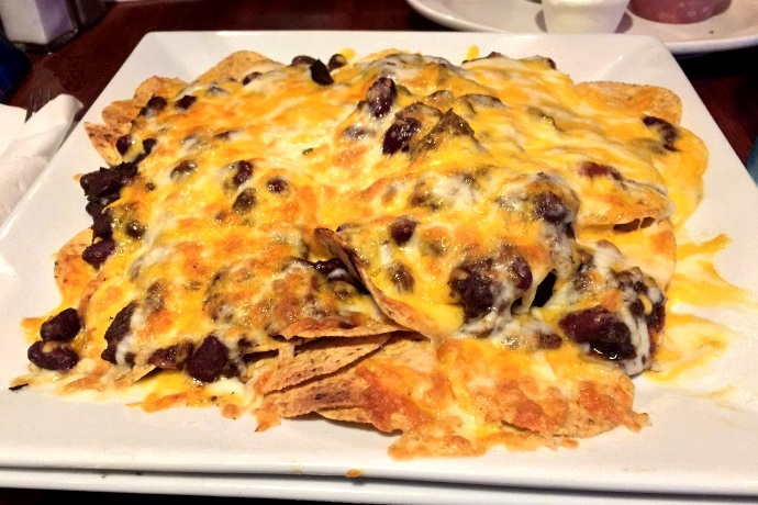 photo of nachos from R.F. O'Sullivan's, Somerville, MA