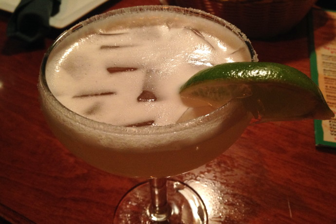 photo of a Margarita from the Pearl Street Station Restaurant, Malden, MA