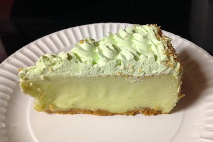 photo of key lime pie from Spinelli's, East Boston, MA