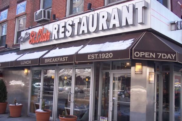 Italian Foods Near Me: The New St. Clair Restaurant, Brooklyn, NY