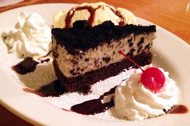 photo of Oreo Cookie Pie from the Swanton Street Diner, Winchester, MA