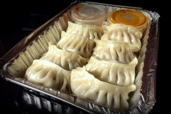 photo of momos from Tasty Mo:Mo:, Somerville, MA