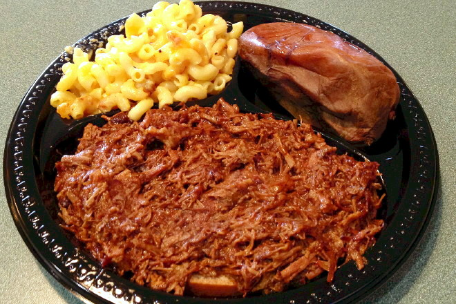 photo of chopped beef plate from Tennessee's, Braintree, MA