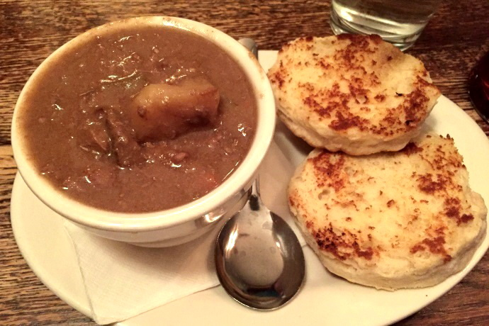 photo of beef stew from The Snug, Hingham, MA