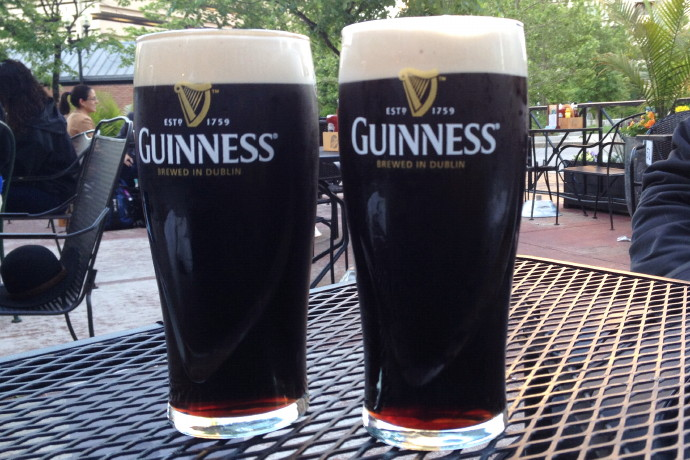 photo of Guinness Stout from The Times Irish Pub and Restaurant, Boston, MA