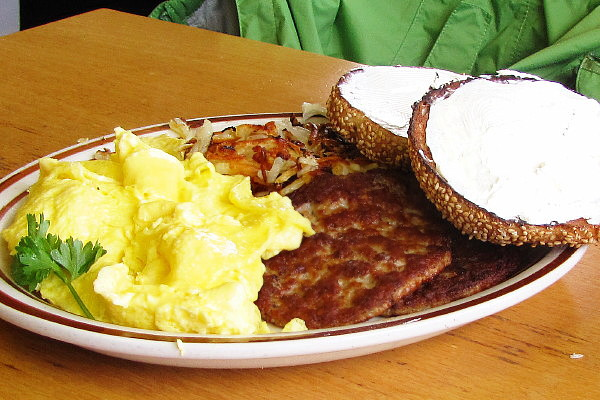photo of a breakfast plate from Toast, Hull, MA