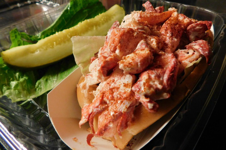 Photo: Lobster Roll from Tony's Clam Shop, Quincy, MA | Boston's Hidden Restaurants