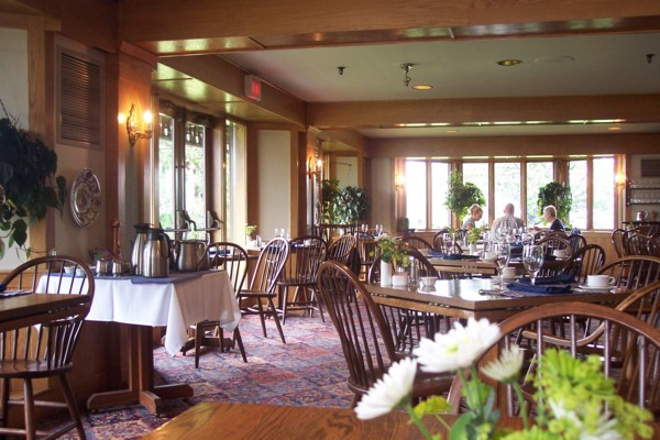 Trapp Family Lodge Dining Room Stowe Vt Photo From
