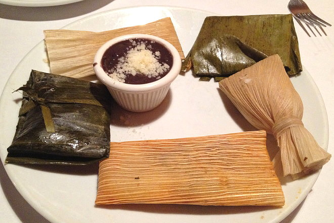 photo of tamales from Tu Y Yo, Somerville, MA