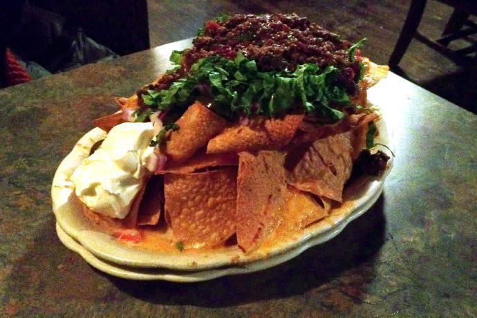 photo of nachos from The Village Manor, Dedham, MA