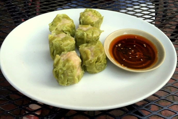 photo of wasabi shumai from Village Sushi and Grill, Roslindale, MA